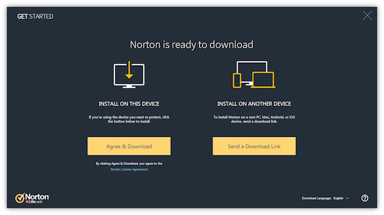 Download Norton on your device