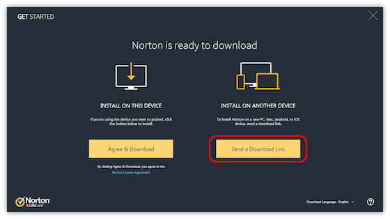 Download, install, reinstall, and redownload norton security products.