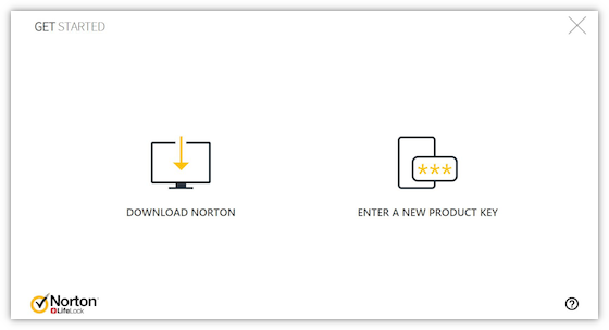 Download Install Reinstall And Redownload Norton Security Products