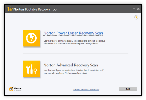 Norton recovery disc download