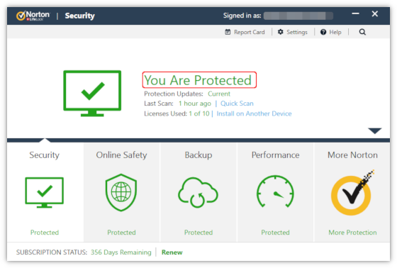 activate norton security suite