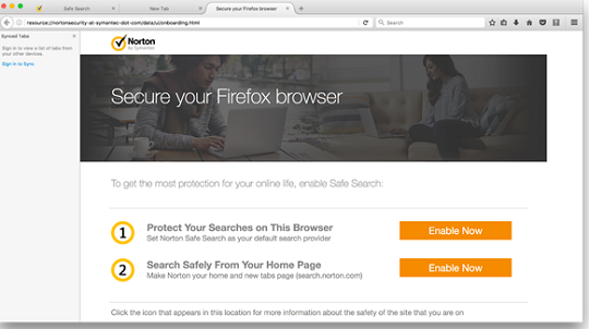 Firefox toolbar enable now