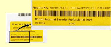 norton antivirus installation from product key