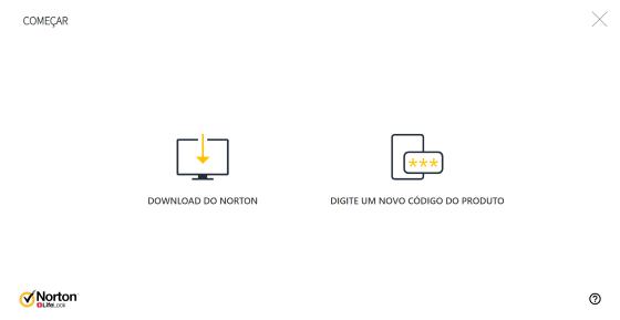 Fazer o download do Norton no seu dispositivo