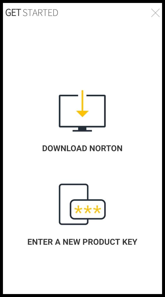 Ladda ner Norton på din enhet